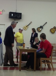 Before the forum, one of the main topics attendees discussed with Rep. Carr is the Affordable Care Act aka Obamacare