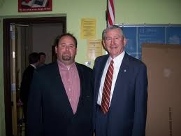 Governor Winfield Dunn and I in the green room with our friend Jim Bryson before the Gubernatorial debate in Knoxville in 2006.