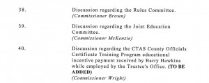 From the Knox Co Commission February 2014 agenda