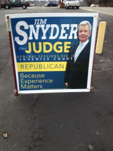 This candidates sign IS compliant.