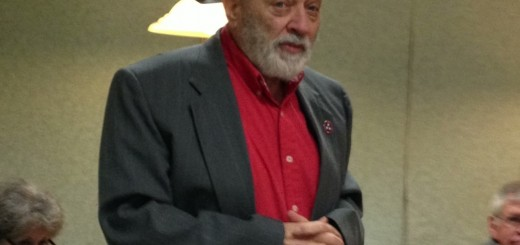 Republican State Executive Committeeman District Six Ted Hatfield was there to thank the voters for his re-election