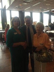 Three of my favorite Democrats and my fiends, Susan Jennings, Greg Mackay and Nancy Stinnette.