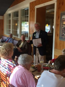 City Councilman at Large Finbarr Saunders explains his background and his candidacy for re-election.