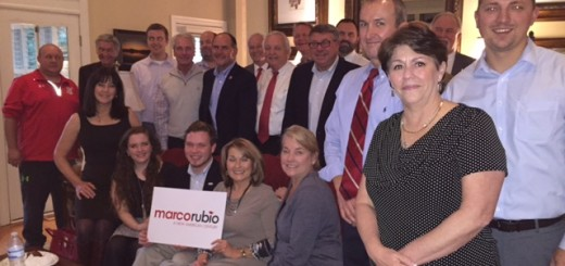 Members that attended the East TN Rubio leadership meeting today.