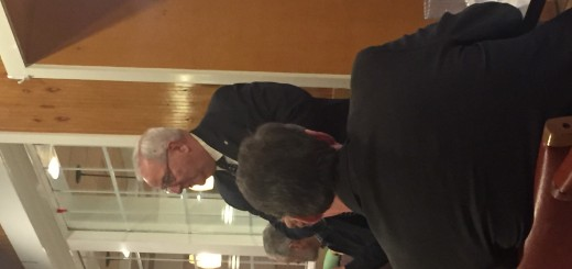 Armstrong speaking to the Centwr City Conservatives Republican Club on 1-28-2016