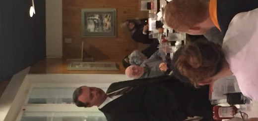 Nathan Rowell presenting himself and his qualifications to the Center City Conservatives Republican Club on 1-28-2016