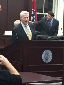 Former Chief Justice of the TN Supreme Court, now Dean of the LMU Duncan School of Law Gary Wade