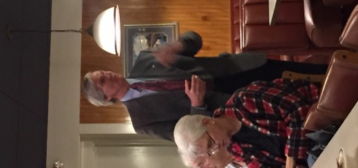 Fifth Dist. Knox Co Commissioner John Schoonmaker introducing himself at a Center City Conservatives Republican Club