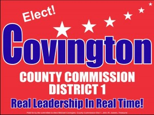 First District Knox County Commission Candidate Michael Covington.