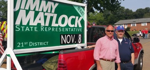 State Representative Jimmy Matlock. Photo Credit: Chip Miller's Facebook page