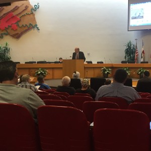 """Knox County Trustee Ed Shouse promptly at 10 am welcomed those in attendance at """"Tax Sale 20"""""""