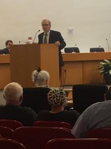 Mr. Howard Hogan, Knox County Clerk & Master explaining the legality of the proceedings