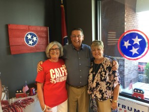 Marilyn & State Rep. Kent Calfee with Mrs. Frankie Shields.