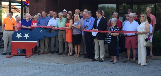 Loudon County GOP cutting the ribbon on their HQ
