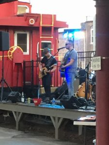 Shaun Abbott and his band can perform anything