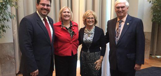 State Rep. Eddie Smith with State Senator Becky Duncan Massey, Congressman Black and Congressman Duncan