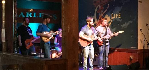 Handsome and the Humbles perform at Barley's