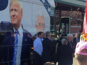 Trump bus stop in knoxville on monday for Joe shirt knoxville tn