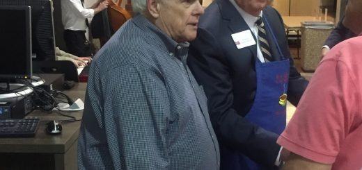 Senator Yager was greeting everyone and introducing Senator soon to be Lt. Governor Randy McNally.