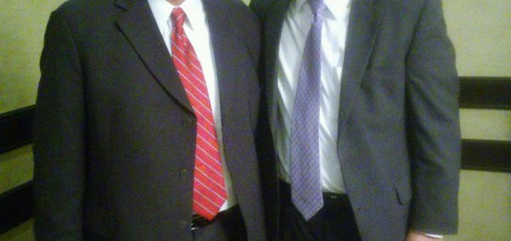 New TN Republican Party Chairman Scott Golden with Former Chairman Ryan's Haynes