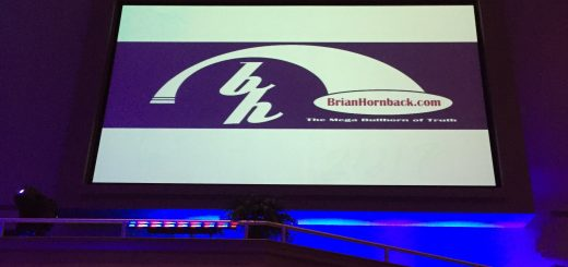 Our logo as one of the night partnerships