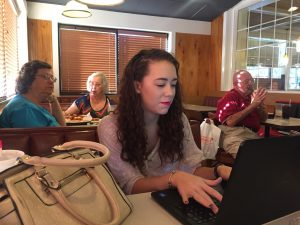 Tristyn Owens, the youngest officer in a Republican Club works as the Recording Secretary for the Center City Conservatives Republican Club. Tristyn graduates from Hardin Valley Academy in May