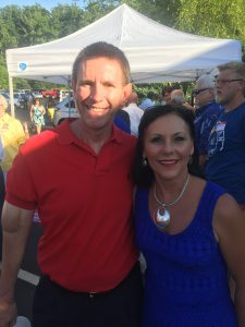 James Carson and Second District Knox County Commissioner Michelle Carringer
