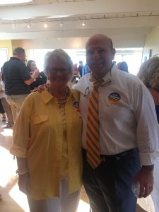 Knox County Sheriff Candidate Lee Tramel and his Mom.