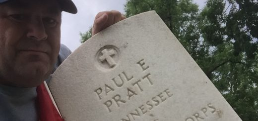 My Dad's brother (Paul Edward Pratt) who gave all at the age of 22.