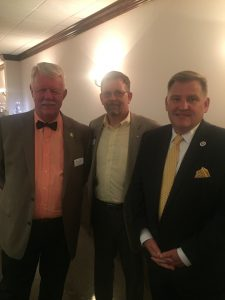Farragut Alderman Ron Williams, Randy Pace and Nick McBride