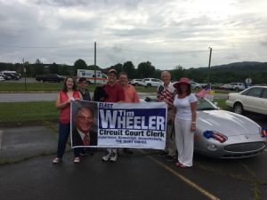 Knox County Circuit Court Clerk Candidate Tim Wheeler and his volunteers