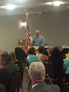 John Griess, the Auctioneer
