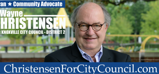 Wayne Christensen, City Council District Two