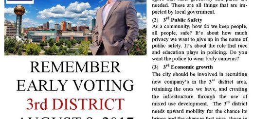 D'ossie Dingus, City Council District Three