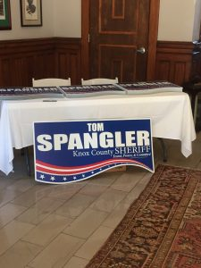Yard Signs were available