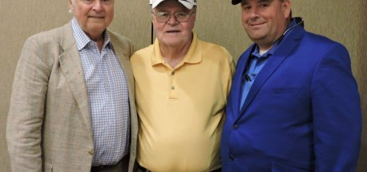Former Mayor Randy Tyree, Everyone's Friend Jim Jennings and myself at the lunch