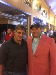 Dr. Tom Pritchard and I