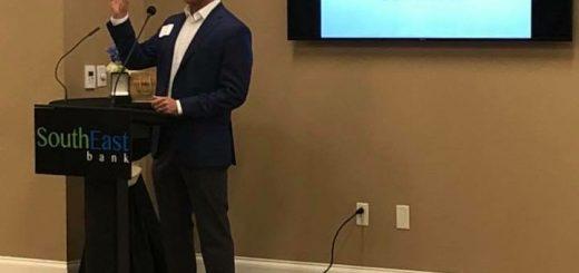 Mr. Joe Matlock (Jimmy's son) speaking
