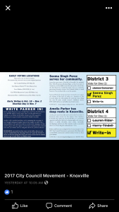 The back side of the possible direct mail piece.