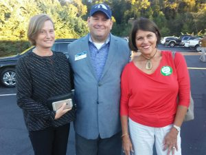 Montgomery, Brian Hornback and Knox County School Board Member Terry Hill
