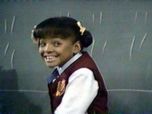 """Tootie"" aka Kim Fields in her role on ""The Facts of Life"""