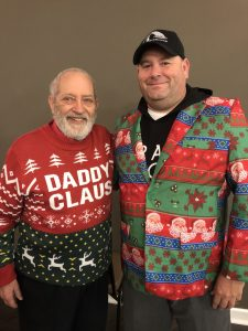 """TN Republican State Executive Committeeman Ted Hatfield as """"Daddy Claus"""" and Me"""