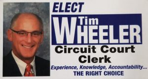 Tim Wheeler, Republican Candidate for Knox County Circuit Court Clerk