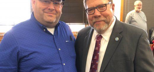 State Senator Art Swann and I