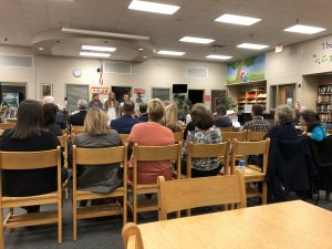 Three West Valley Middle students sing