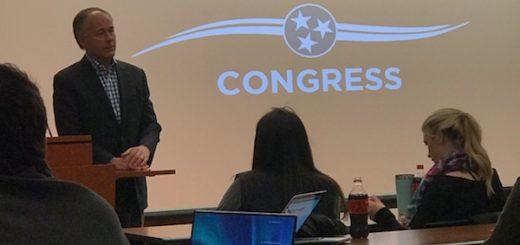 Matlock Speaking to College Republicans