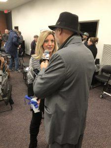 Armstrong interviewing Witt
