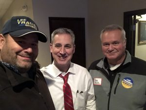 Hornback, Knox County Circuit Court Clerk Candidate Charlie Susano and Scott Moore
