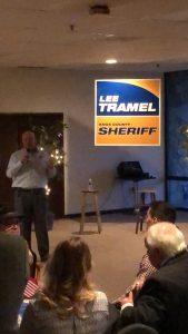 Tramel speaking