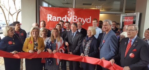 Ribbon Cutting at the Randy Boyd Campaign HQ Opening in Knoxville